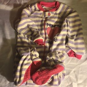 Children's Place Baby girls footed pajamas